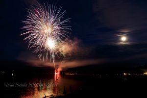 Falcon Lake Manitoba Fireworks